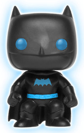 Justice League - Batman (Silhouette Glow) Pop! Vinyl Figure