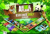 Animal Planet: Explorer-Opoly Junior - Board Game