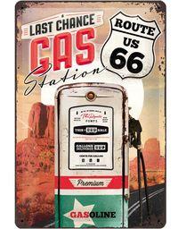 Nostalgic Art: Tin Sign - Route 66