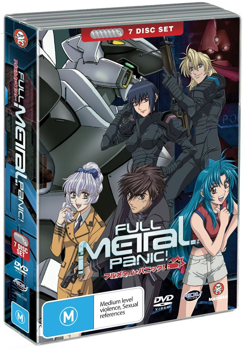 Full Metal Panic! Collection (7 Disc Fatpack) on DVD image