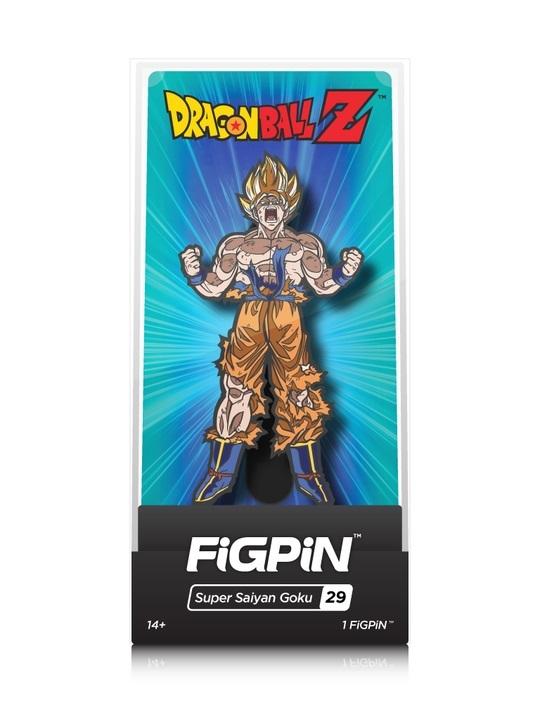 53fd36d7a Dragon Ball Z: Super Saiyan Goku (#29) - FIGPiN | at Mighty Ape NZ
