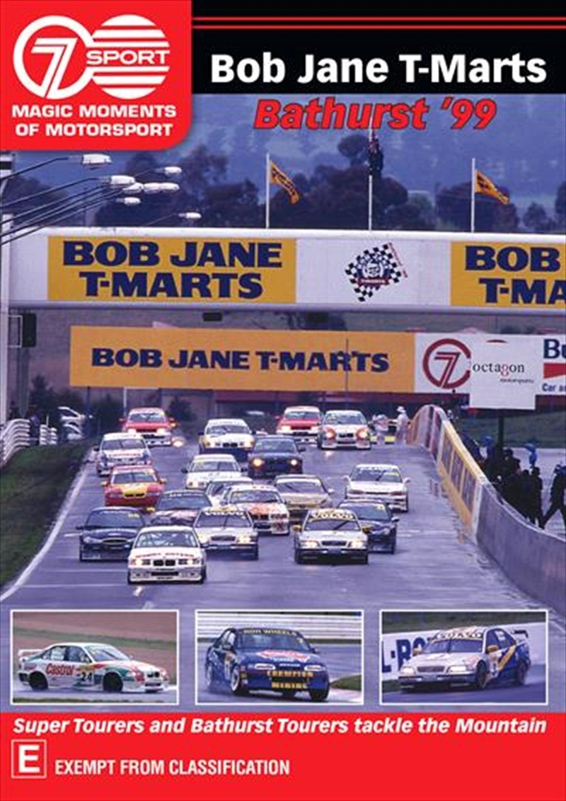 Magic Moments of Motorsport Bob Jane T-Mart Bathurst 500 (1999) on DVD image