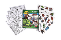 Colour & Sticker Book Avengers - Crayola