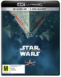 Star Wars: The Rise of Skywalker on UHD Blu-ray