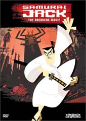 Samurai Jack - The Premiere Movie (NTSC) on DVD