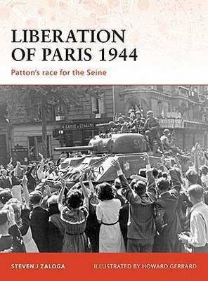 Liberation of Paris 1944 by Steven Zaloga image