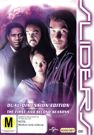 Sliders - Season 1 & 2 on DVD
