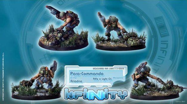 Infinity: Para-Commando (Rifle, Light GL)