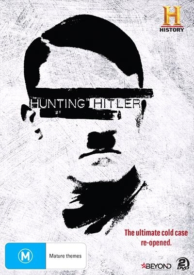Hunting Hitler on DVD image