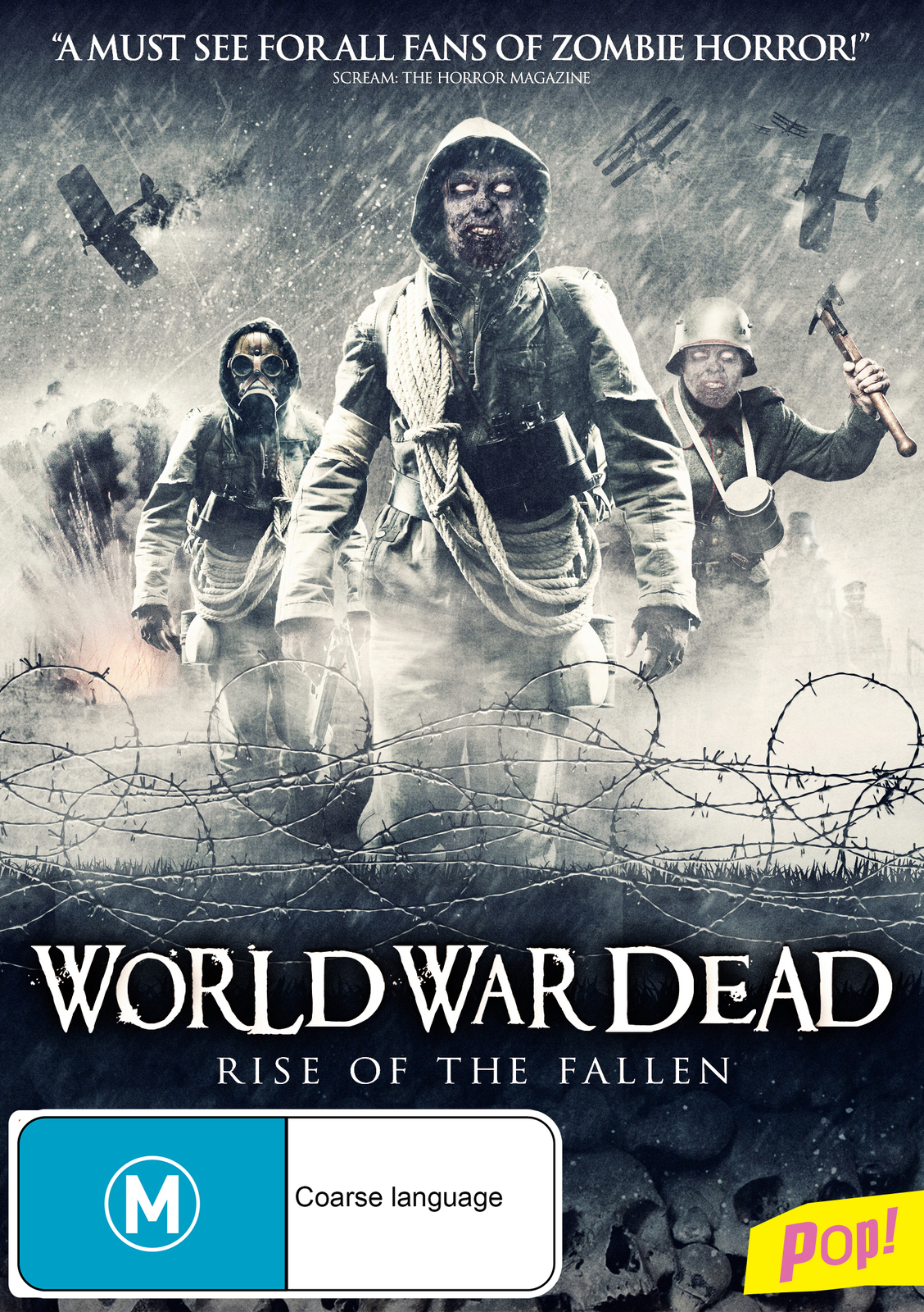 World War Dead: The Rise of the Fallen on DVD image