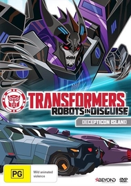 Transformers: Robots In Disguise - Decepticon Island on DVD