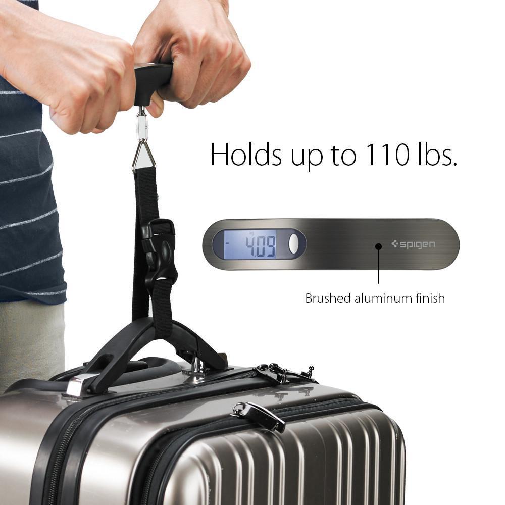 Spigen: E500 Compact Luggage Scale - 110lb/50kg capacity image
