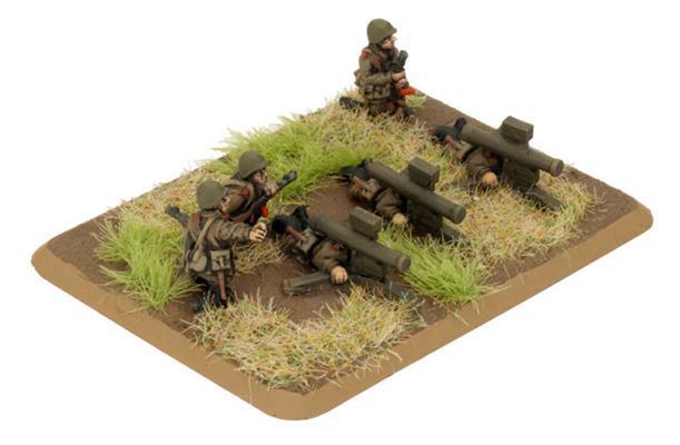 Team Yankee: Afgantsy Heavy Weapons (Plastic)