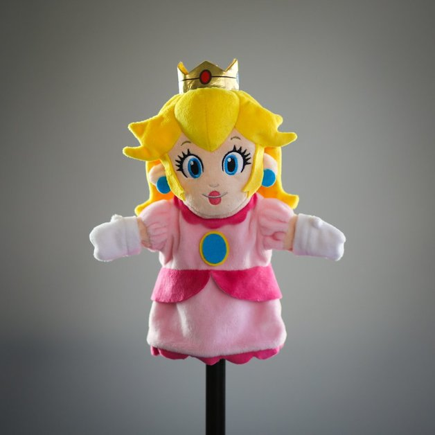 "Super Mario Bros: Princess Peach - 10"" Plush Puppet"
