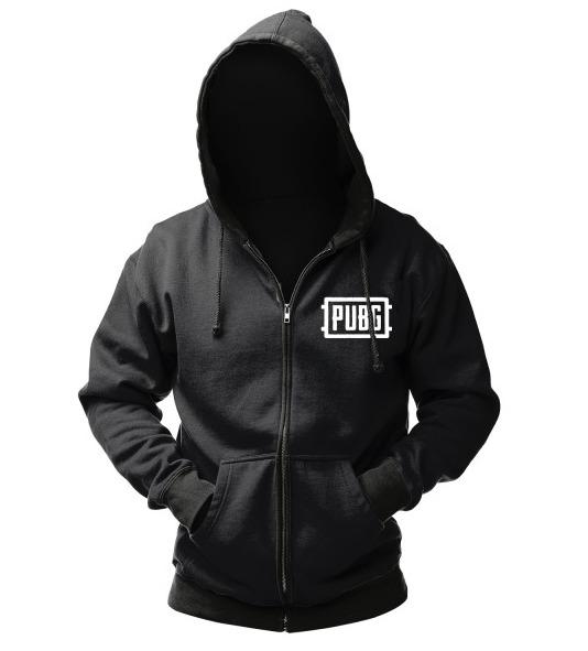 """Playerunknown's Battlegrounds Zipper Hoodie """"Logo"""", L"""