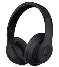Beats: Studio3 Wireless Over-Ear Headphones - with Pure Active Noise Cancellation - Matte Black