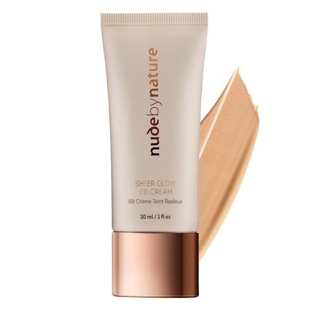 Nude by Nature Sheer Glow BB Cream - #03 Nude Beige (30ml)