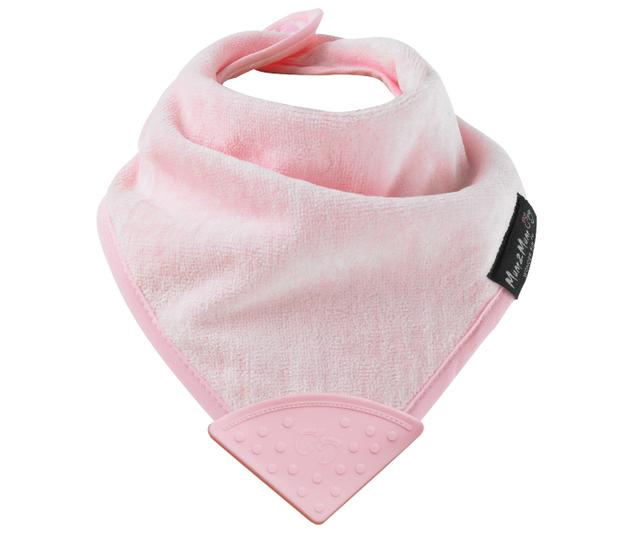 Mum 2 Mum: Teething Bandana Bib - Pink