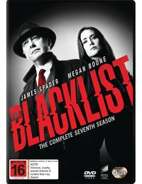 The Blacklist - The Complete Seventh Season on DVD image
