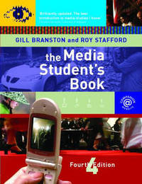 The Media Students Book by Gill Branston image
