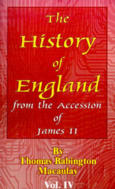 History of England: From the Accession of James II by Thomas Babington Macaulay image