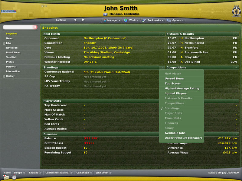 Football Manager 2007 for PC Games image