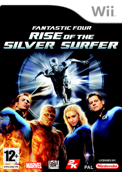 Fantastic 4: Rise of the Silver Surfer for Nintendo Wii