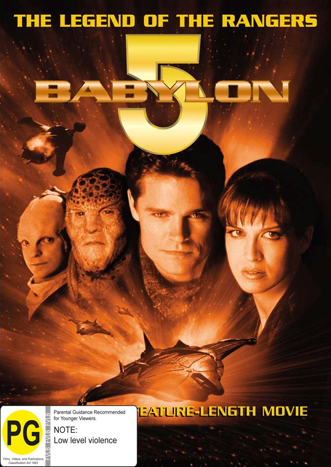Babylon 5 - Legend Of The Rangers on DVD image