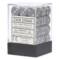Chessex Signature 12mm D6 Dice Block: Hi-tech Speckled