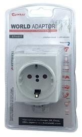 Travel Adapter for 240V Equipment from Britain/USA/Europe/Japan/China/Hongkong/Singapore/Canada