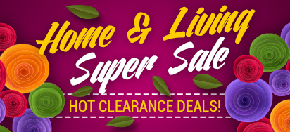Home & Living Clearance Sale!