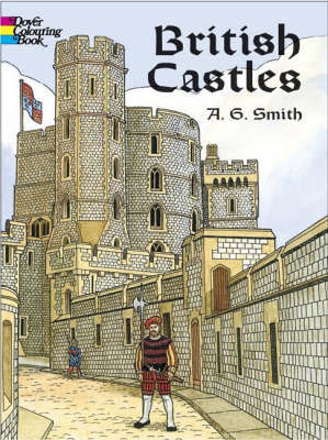 British Castles Coloring Book by Albert G. Smith