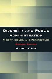 Diversity and Public Administration by Mitchell F Rice image