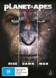 Planet Of The Apes - Trilogy Collection on DVD