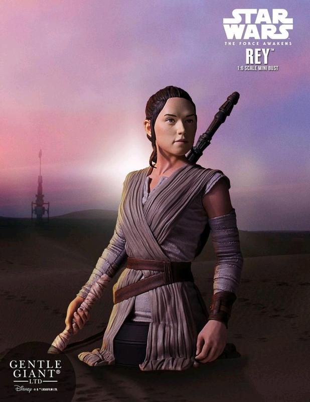 Star Wars: Rey (The Force Awakens) - Mini Bust