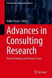 Advances in Consulting Research