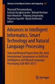 Advances in Intelligent Informatics, Smart Technology and Natural Language Processing image