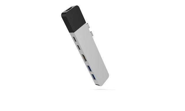 HyperDrive: NET Hub USB-C MacBook Pro - Silver