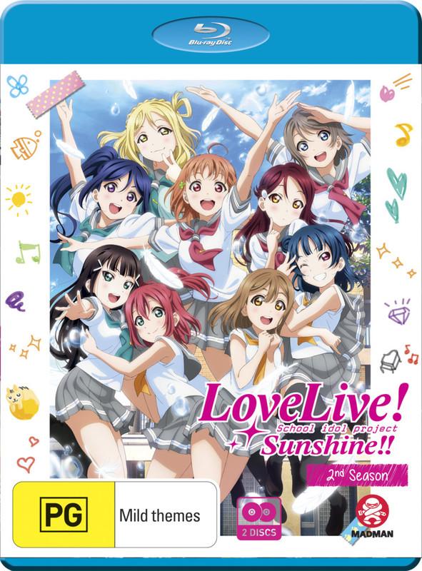 Love Live! Sunshine!! Complete Season 2 on Blu-ray