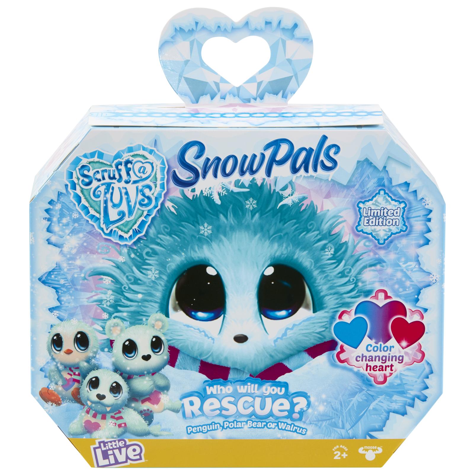 Scruff-a-Luvs: Surprise Plush - Snow Pals image