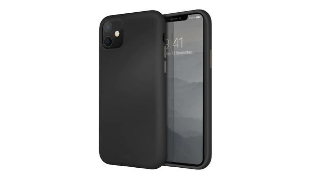 Uniq: iPhone 11 Liquid Silicone Case - Grey