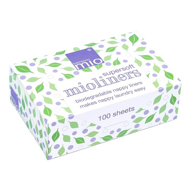 Bambino Mio Supersoft Mioliners - 100 pack