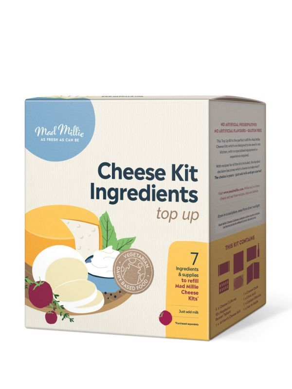 Mad Millie - Top-Up Cheese Ingredients Kit