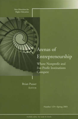 Arenas of Entrepreneurship: Where Nonprofit and For-Profit Institutions Compete by Higher Education (HE) image