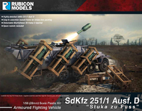 "Rubicon 1/56 SdKfz 251/1 Ausf D ""Stuka zu Fuss"""
