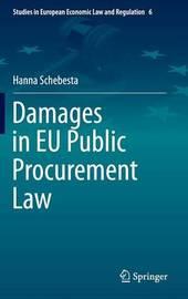 Damages in EU Public Procurement Law by Hanna Schebesta