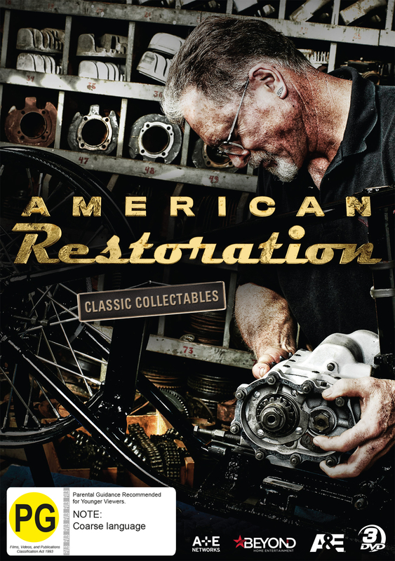 American Restoration: Classic Collectables on DVD