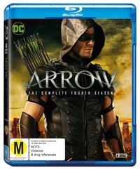 Arrow - The Complete Fourth Season on Blu-ray image