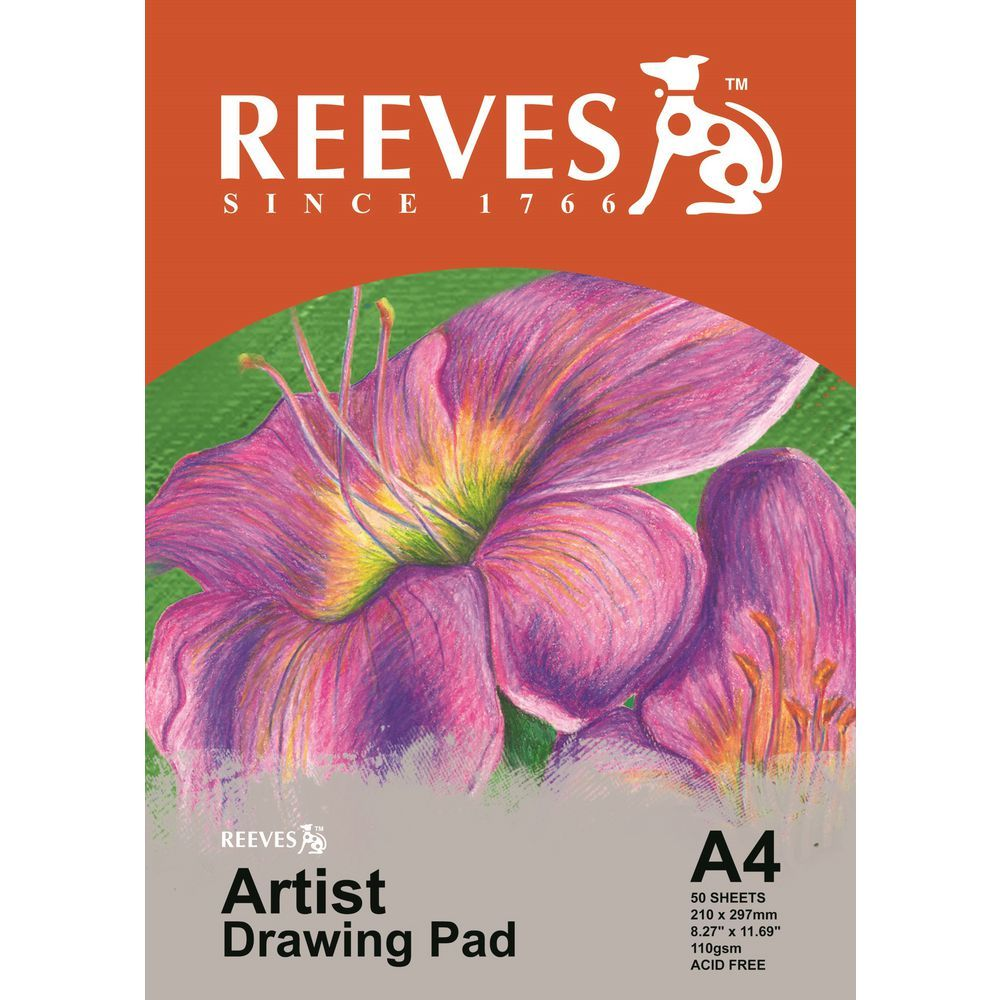 Reeves Artist Drawing Pad A4 image