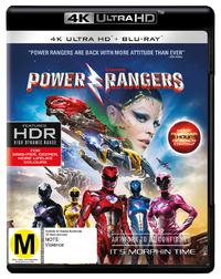 Saban's Power Rangers on Blu-ray, UHD Blu-ray